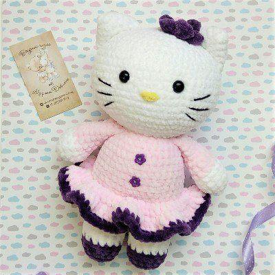 Hello Kitty амигуруми