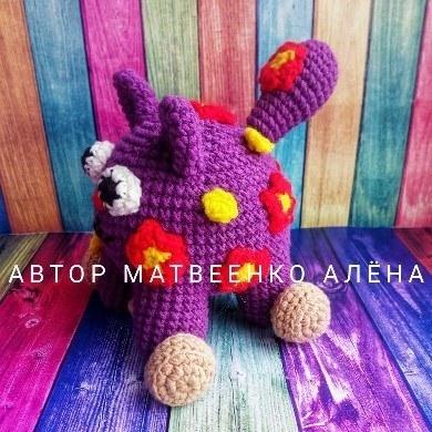 Кошечка Мяу крючком