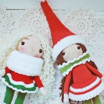 Куклы девочки амигуруми