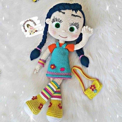 Кукла Висспер крючком