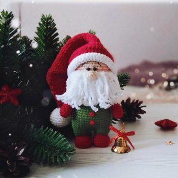 Рождественский гном крючком