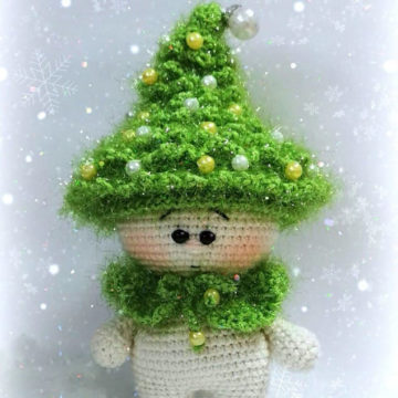 Малышка елочка новогодняя