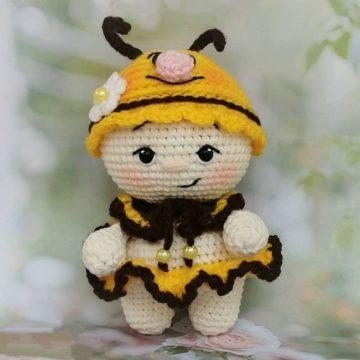 Малышка Пчелка амигуруми